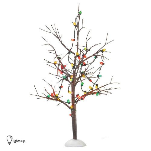 Lighted Xmas Bare Branch Tree