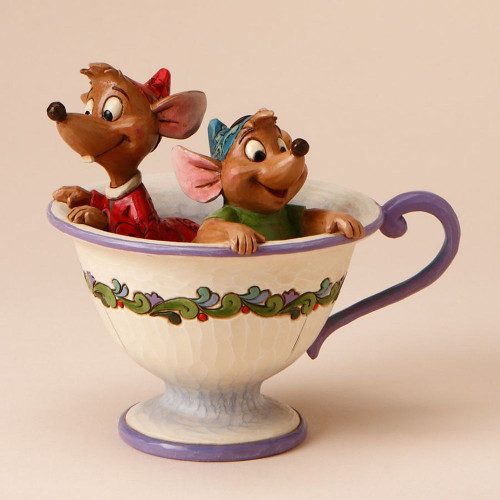 Jaq And Gus In Teacup