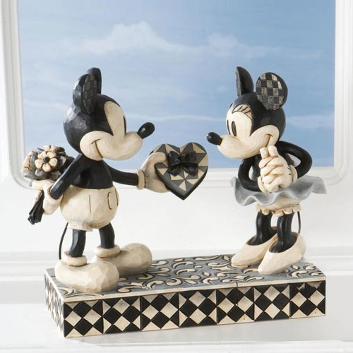 Black And White Mickey And Minn