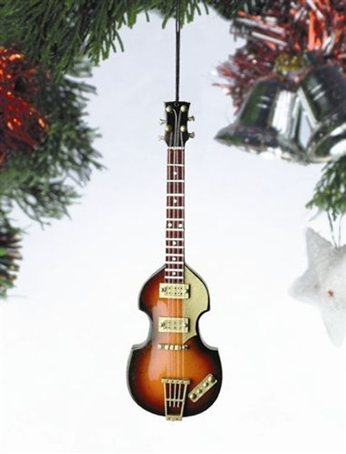 Electric Wood Bass Guitar