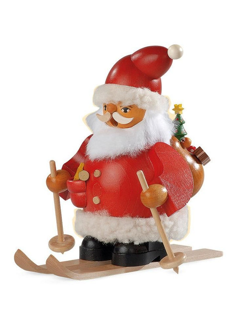 Santa On Skis-Smoker-Medium