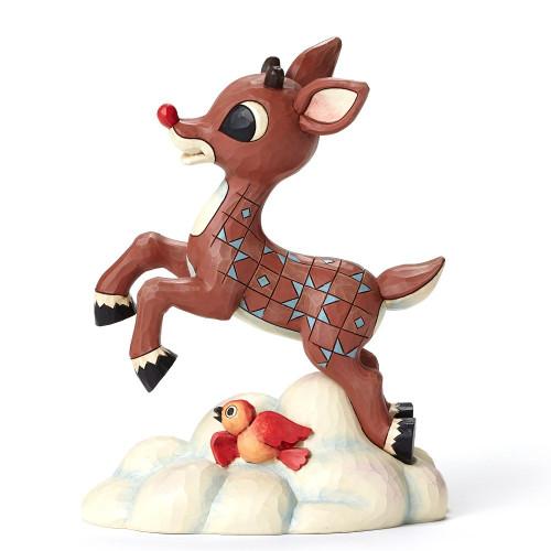 Flying Rudolph