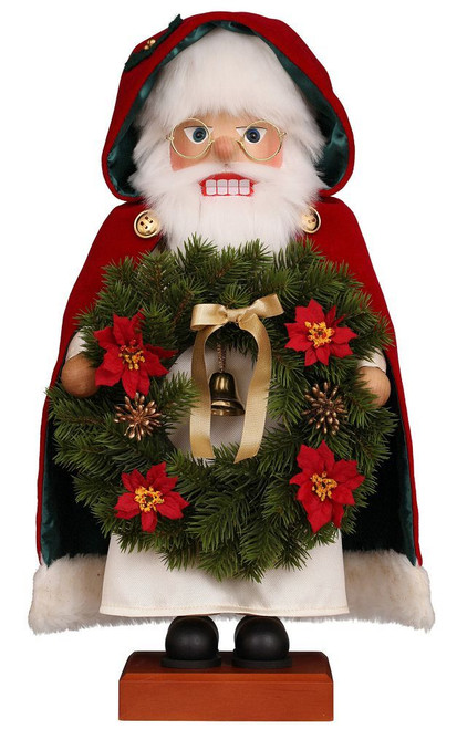 Ulbricht Santa With Wreath