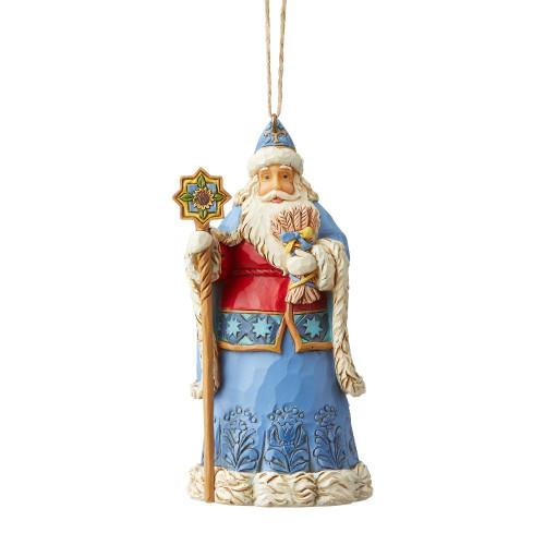 Ukrainian Santa Ornament