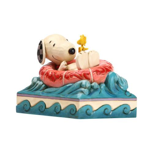 Snoopy/Woodstock in Floatie