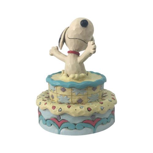 Snoopy In Birthday Cake