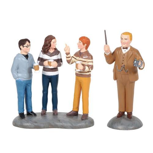 Professor Slughorn & the Trio