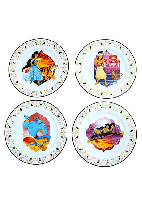 Aladdin Dinner Plater Set Of 4