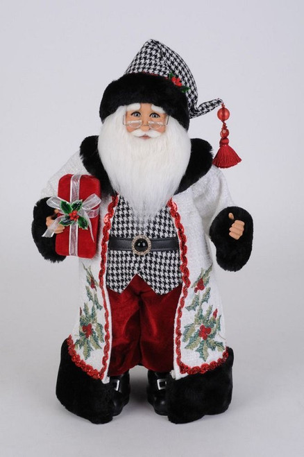 Holly Berry Santa