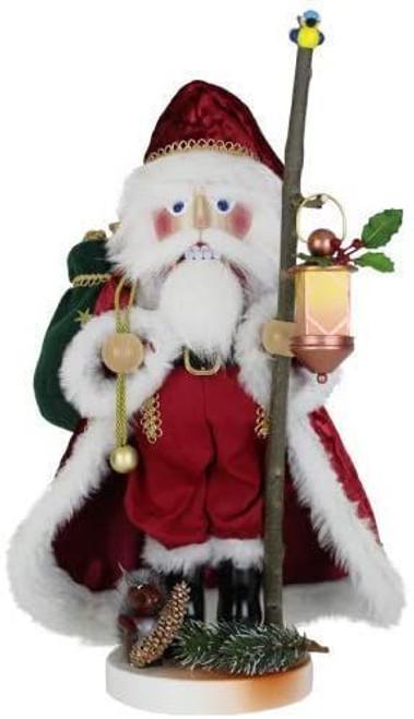 Cozy Woodland Santa