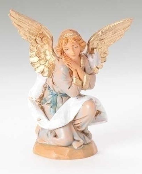 "5"" Kneeling Angel Nativity Fig"