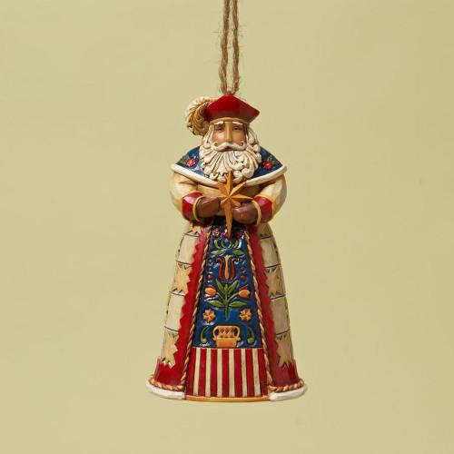 Polish Santa Ornament