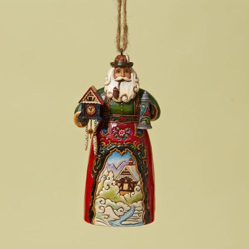 German Santa Ornament