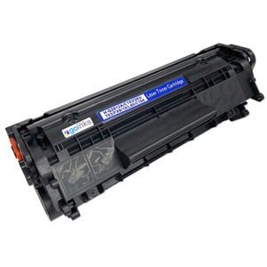 1 Go Inks Black Laser Toner Cartridge to replace HP Q2612A Compatible / non-OEM for HP Laserjet Printers