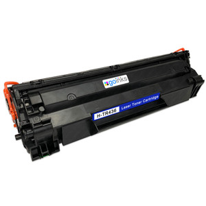 1 Go Inks Black Laser Toner Cartridge to replace HP CB436A Compatible / non-OEM for HP Laserjet Printers