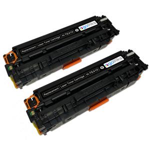 2 Go Inks Black Laser Toner Cartridges to replace HP CE410X Compatible / non-OEM for HP Colour & Pro Laserjet Printers