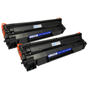 2 Go Inks Black Laser Toner Cartridges to replace HP CE285A Compatible / non-OEM for HP Laserjet Pro Printers