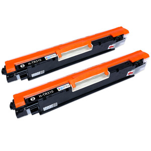 2 Go Inks Black Laser Toner Cartridges to replace HP CE310A Compatible / non-OEM for HP Colour & Pro Laserjet Printers