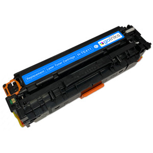 1 Go Inks Cyan Laser Toner Cartridge to replace HP CE411A Compatible / non-OEM for HP Colour & Pro Laserjet Printers