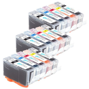 3 Go Inks Compatible Sets of 5 HP 364 XL Printer Ink Cartridges Compatible / non-OEM for HP Photosmart Printers (15 Inks)