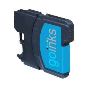 1 Go Inks Cyan Ink Cartridge to replace Brother LC985C Compatible / non-OEM for Brother DCP & MFC Printers