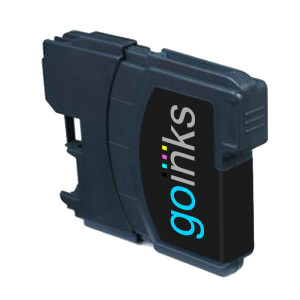1 Go Inks Black Ink Cartridge to replace Brother LC985Bk Compatible / non-OEM for Brother DCP & MFC Printers