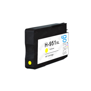 1 Go Inks Yellow Compatible Printer Ink Cartridge to replace HP 951Y (XL Capacity) Compatible / non-OEM for HP Photosmart Printers