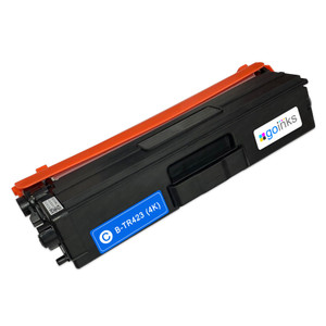 1 Go Inks Cyan Laser Toner Cartridge to replace Brother TN423C Compatible / non-OEM for Brother DCP, MFC & HL Printers