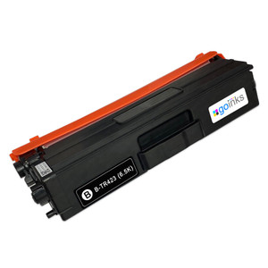 1 Go Inks Black Laser Toner Cartridge to replace Brother TN423Bk Compatible / non-OEM for Brother DCP, MFC & HL Printers