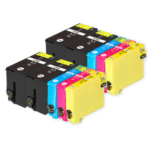 2 Go Inks Set of 4 + extra Black Ink Cartridges to replace Epson T3476+3471 (34XL Series) Compatible / non-OEM for Epson WorkForce Pro Printers (10 Inks)