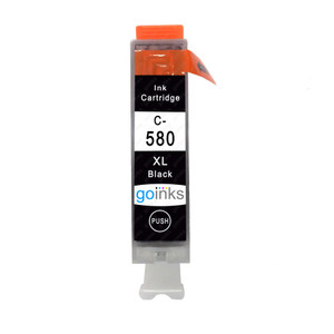 1 Go Inks Black Ink Cartridge to replace Canon PGI-580Bk Compatible / non-OEM for PIXMA Printers