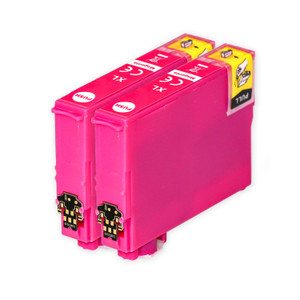 2 Go Inks Magenta Ink Cartridges to replace Epson 502XLM Compatible / non-OEM for Epson WorkForce & Expression Printers