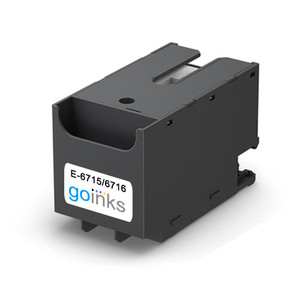 Go Inks E-6715 Ink Maintenance Box/Tank to replace Epson T6715 (Maintenance Kit) Compatible / non-OEM (Pack of 1)