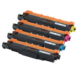 1 Go Inks Set of 4 Laser Toner Cartridges to replace Brother TN247 (XL Capacity) Compatible / non-OEM for Brother DCP, MFC & HL Printers