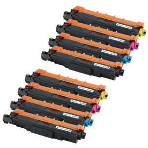 2 Go Inks Set of 4 Laser Toner Cartridges to replace Brother TN247 (XL Capacity) Compatible / non-OEM for Brother DCP, MFC & HL Printers