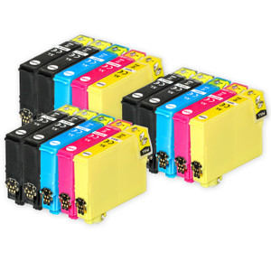 3 Go Inks Set of 4 + extra Black Ink Cartridges to replace Epson 603XL+603XLBk Compatible / non-OEM for Epson WorkForce & Expression Printers (15 Inks)