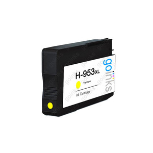 1 Go Inks Yellow Compatible Printer Ink Cartridge to replace HP 953Y (XL Capacity) Compatible / non-OEM for HP Photosmart Printers