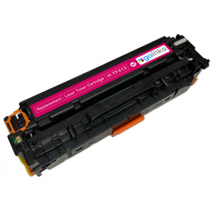 1 Go Inks XL Magenta Laser Toner Cartridge to replace HP CF413X Compatible / non-OEM for HP Colour & Pro Laserjet Printers