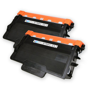 2 Go Inks Black Laser Toner Cartridges to replace Brother TN3512 Compatible / non-OEM for Brother DCP, MFC & HL Printers