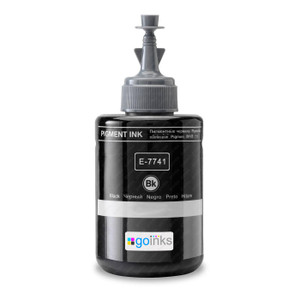 1 Go Inks Black Ink Bottle 140ml to replace Epson T7741 (XL) Compatible / non-OEM for EcoTank Printers