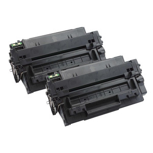 2 Go Inks Black Laser Toner Cartridges to replace HP CE255A (55A) Compatible/non-OEM for HP Laserjet Pro Printers