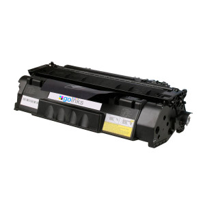 1 Go Inks Black Compatible Toner Cartridge replaces HP CE505A (05A) Series *New Patented Design*