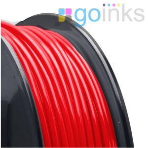 Go Inks Red 3D Printer Filament - 0.5KG(500g)  - ABS - 1.75mm