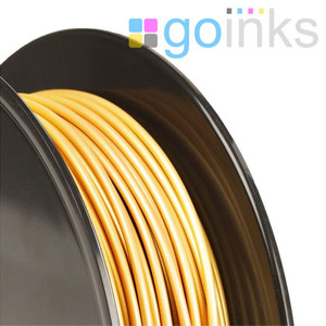 Go Inks Gold 3D Printer Filament - 1KG - ABS - 1.75mm