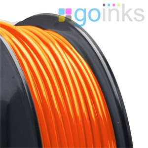 Go Inks Orange 3D Printer Filament - 0.5KG (500g) - ABS - 1.75mm