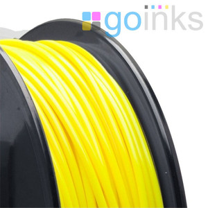 Go Inks Yellow 3D Printer Filament - 0.5KG (500g) - PLA - 1.75mm