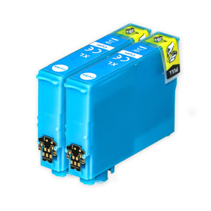 2 Go Inks Cyan  Ink Cartridges to replace Epson T1302 Compatible / non-OEM for Epson Stlyus & Workforce Printers