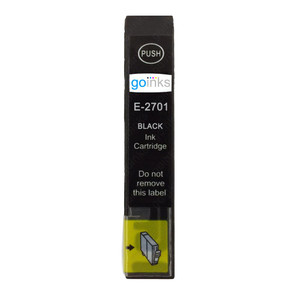 1 Go Inks Black Ink Cartridge to replace Epson T2701 (27 Series) Compatible / non-OEM for Epson Workforce Printers