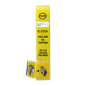 1 Go Inks Yellow Ink Cartridge to replace Epson T2704 (27 Series) Compatible / non-OEM for Epson Workforce Printers