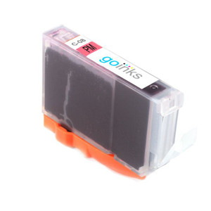 1 Go Inks Photo Magenta Ink Cartridge to replace Canon CLI-8PM Compatible / non-OEM for PIXMA & Pixus Printers